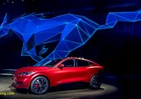 Mustang Mach E Elegant Update ford Mustang Mach E Electric Cuv Debuts with Up to