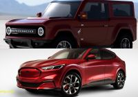 Mustang Mach E Luxury 2021 ford Bronco Vs 2021 ford Mustang Mach E is A War Of