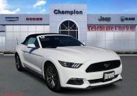Mustangs for Sale Near Me Fresh Pre Owned 2015 ford Mustang Ecoboost Premium Rwd Convertible