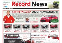 Nearest ford Dealership Beautiful Smithsfalls by Metroland East Smiths Falls Record