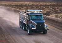 New Trucks Lovely Volvo Unveils New Vhd Vocational Trucks with New Look