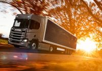New Trucks Luxury Scania Presents New Trucks with solar Panels the Patent