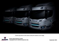 New Trucks Luxury Scania Reveal New Fully Electric and A Plug In Hybrid Trucks