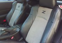 Nissan 350z Fresh 02 08 Nissan 350z Genuine Leather Seat Covers Custom orders