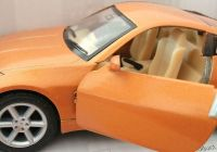Nissan 350z Fresh Kinsmart Nissan 350z [4 5 Inch] Die Cast with Openable Doors & Pull Back Action orange