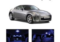 Nissan 350z Fresh Xtremevision Led for Nissan 350z 2003 2008 5 Pieces Blue Premium Interior Led Kit Package Installation tool Walmart
