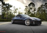 Nissan 350z Inspirational Avant Garde forged 3 Piece Wheels On Stanced Nissan 350z