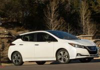 Nissan Leaf Customer Review Inspirational 2020 Nissan Leaf Starts at $31 600 and Has More Standard Kit