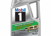 Oil Change App Luxury Mobil 1 Advanced Fuel Economy Full Synthetic Motor Oil 0w 20 5 Qt Walmart