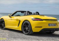 Porsche Boxster Price Luxury Porsche Says We Should Thank China for the 718 Boxster Cayman