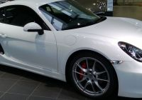 Porsche Cayman for Sale Fresh White Porsche Cayman S