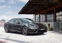 Porsche Panamera 2017 Unique Courage Changes Everything the New Panamera
