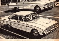 Premier Auto Sales Elegant 1963 Xl ford Falcon Sedan & Wagon Aussie original Magazine
