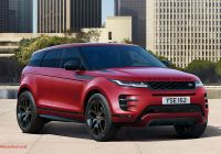 Range Rover 2011 Fresh New 2019 Range Rover Evoque Prices and Specs Revealed