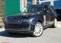 Range Rover for Sale Near Me Beautiful New 2020 Land Rover Range Rover P525 Hse with Navigation & 4wd