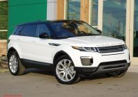 Range Rover for Sale Near Me Fresh New 2019 Land Rover Range Rover Evoque Se with Navigation & 4wd