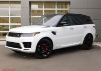 Range Rover Sport 2012 Luxury New 2020 Land Rover Range Rover Sport Turbo I6 Mhev Hst with Navigation & 4wd