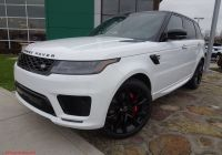 Range Rover Sport for Sale Beautiful New 2020 Land Rover Range Rover Sport Hst with Navigation & 4wd