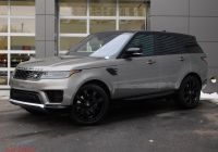 Range Rover Sport for Sale Beautiful New Land Rover Range Rover Sport Hse with Navigation & 4wd