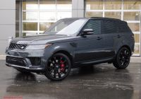 Range Rover Sport for Sale Best Of New 2020 Land Rover Range Rover Sport Hst with Navigation & 4wd
