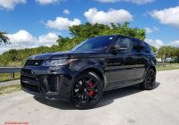 Range Rover Svr for Sale Beautiful New 2020 Land Rover Range Rover Sport Svr with Navigation & 4wd
