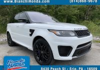 Range Rover Svr for Sale Beautiful Pre Owned 2017 Land Rover Range Rover Sport Svr