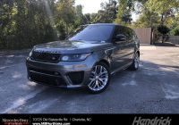 Range Rover Svr for Sale Beautiful Pre Owned 2017 Land Rover Range Rover Sport Svr with Navigation & 4wd