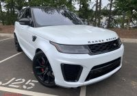 Range Rover Svr for Sale Luxury Pre Owned 2018 Land Rover Range Rover Sport Svr with Navigation & 4wd