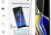 Samsung New Case Friendly for S10 5g Version Samsung Galaxy S10 S9 S8 Plus S7 S6 Edge Note 9 8 No Hole Tempered Glass 3d Curve Edge Screen Protector