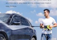 Select Cars Lovely Xiaomi Jimmy High Pressure Handheld Wireless Car Washer