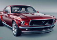 Sleeping Tesla Driver Luxury This Tesla Based All Electric Mustang Concept isn T From