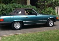 Slk 350 Awesome 1980 Mb 450sl Teal Green Hard top Chocolate Brown soft top