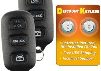 Smart Car Key Replacement Fresh Discount Keyless Replacement Key Fob Car Remote for toyota 4runner Sequoia Hyq12bbx Hyq12ban Hyq1512y