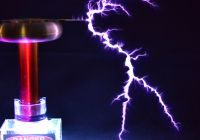Solid State Tesla Coil Fresh Tesla Coil with A Six Pack Capacitor Make