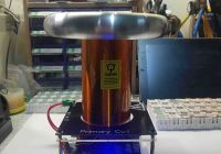 Solid State Tesla Coil Inspirational Diy Sstc Tesla Coil Physic Lab Education Equipment with Primary Coil and toroid