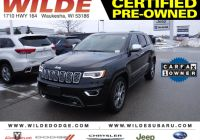 Subaru Certified Pre Owned Elegant Certified Pre Owned 2019 Jeep Grand Cherokee Overland with Navigation & 4wd