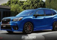 Subaru forester Beautiful 2019 Subaru forester Sti Render Needs to Happen In Real Life