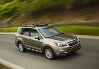 Subaru forester Elegant 2017 Subaru forester Fers Advanced Safety Features and