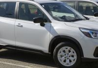 Subaru forester Lovely File 2020 Subaru forester Base In Crystal White Front