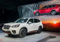 Subaru forester New 2019 Subaru forester Grows Roomier Aims to Curb Distracted