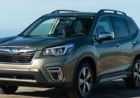 Subaru forester New 2019 Subaru forester Review Smart Camera Tech Watches the