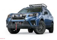 Subaru forester New Warn Releases their New Subaru forester Winch Tray