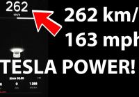 Tesla 0-100 Mph Fresh Tesla Model 3 Performance Accelerates From 0 163 Mph Video