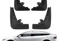 Tesla 18 Wheeler Elegant Basenor Tesla Model X Mud Flaps Splash Guards Accessories Set Of Four