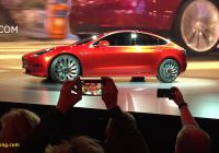 Tesla 2017 Lovely Tesla S First Mass Market Car the Model 3 Hits Production