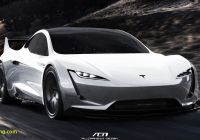 Tesla 2020 Awesome Tesla Roadster S Spacex Thrusters to Be Hidden Under License