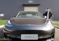 Tesla 2020 Awesome Tesla Will Start Delivering China Made Model 3 Cars On January 7