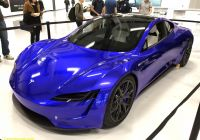 Tesla 2020 New the New 2020 Roadster Recolored In All the Classics and A