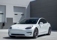 Tesla 3 Wheels New Tesla Model 3 On Hre P101sc In Frozen Dark Clear