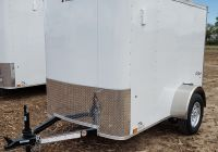 """Tesla 369 Elegant 2019 Pace Outback Cargo Trailer 6 8"""" X 12 3"""" X 7 0"""" Tall"""